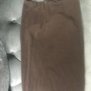 xs Taupe pencil skirt